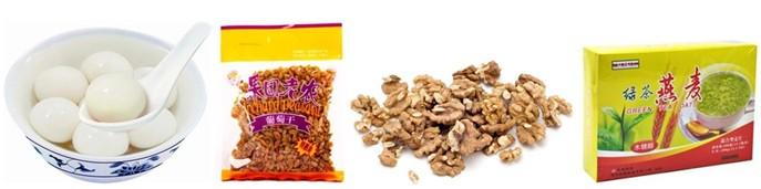 膨化食品包装机包装案例
