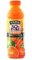 果汁灌装样品