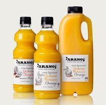 橙汁灌装效果