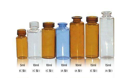 不同规格的小瓶容器