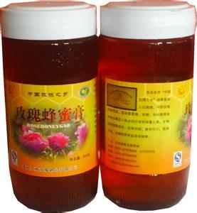 玫瑰蜂蜜膏灌装样品