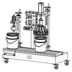 全自动涂料灌装机原理构造
