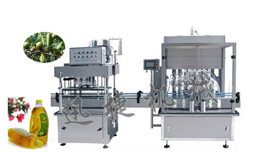 全自动桶装橄榄油灌装机