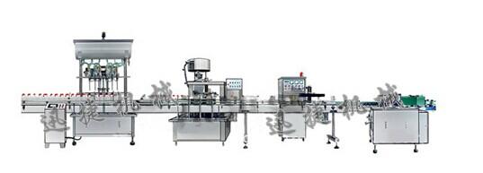 全自动小剂量桶装橄榄油灌装生产线