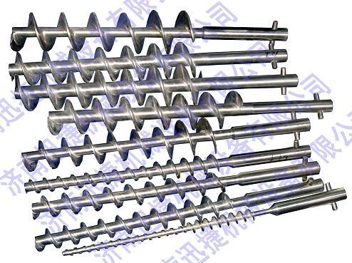 半自动粉剂灌装机螺旋杆