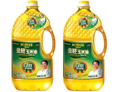 玉米油定量灌装效果