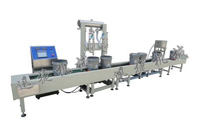 大型润滑油定量灌装生产线