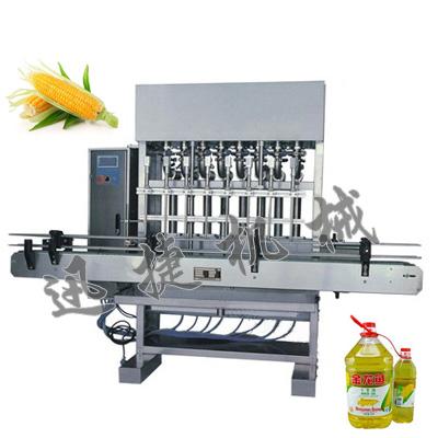 全自动玉米油定量灌装机