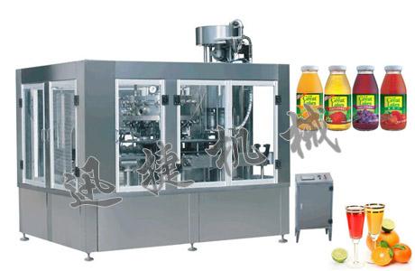果汁定量灌装机