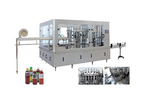全自动果汁定量灌装机