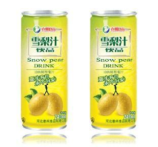 梨汁灌装样品