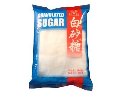 砂糖包装效果