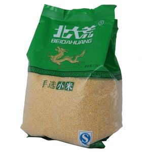 袋装小米包装样品