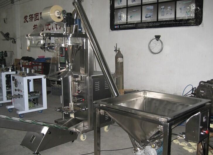 淀粉自动包装机存放车间