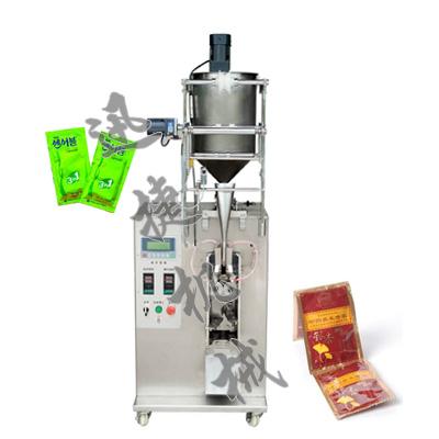 立式半自动液体包装机