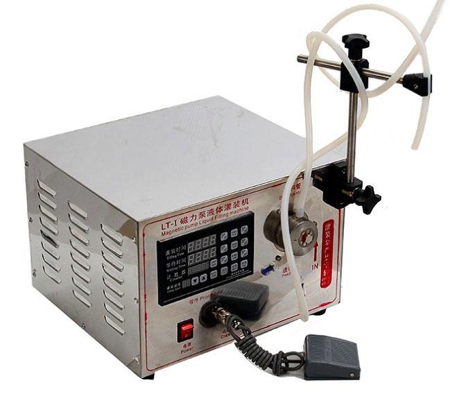 小型定量矿泉水饮料磁力泵灌装机