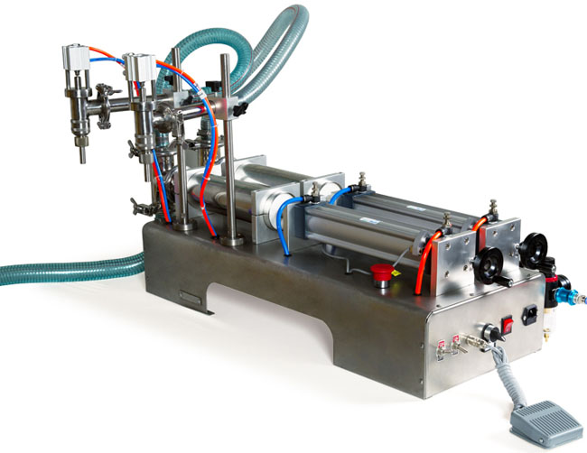 小型半自动液体定量灌装机
